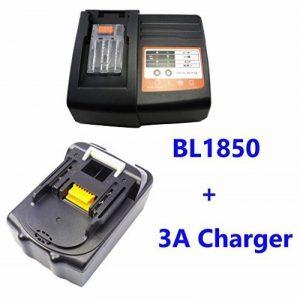 1PCS 5000mAh 18V Makita BL1830 BL1815 BL1850 Batterie avec 1PCS Makita Chargeur 1,5A pour DC18RA DC18RC DC1803 DC1804 DC14SA de la marque FengWings image 0 produit