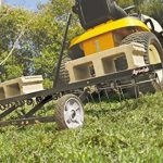 Agri-Fab AG45-0295 Démousseur tracté avec dents ressorts Noir Largeur de travail 122cm de la marque Agri-Fab image 2 produit
