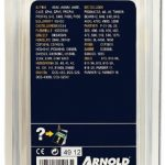 """Arnold 1191-X2-5066 Chaîne de tronçonneuse 66 maillons entraîneurs 325"""" x 1,3 mm 40 cm de la marque ARNOLD image 1 produit"""