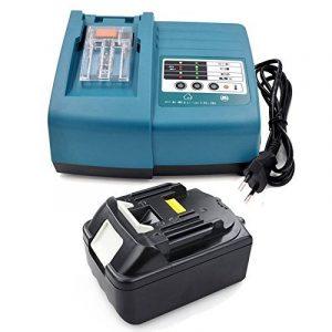 Batterie + Chargeur pour Makita 5,0Ah bl1850Li 18V 196672–8Batteries d'remplacer dc18rc DC18RA pour 14,4V ~ 18V Batterie de la marque JQSPOWER image 0 produit
