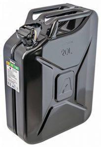 Bidon à carburant 20l, noir, en métal Arnold 6011-X1–2002 de la marque ARNOLD image 0 produit