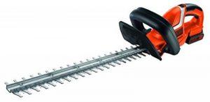 Black + Decker 18 v cisaille taille-haies sans fil-longueur de lame 45 cm-largeur de coupe 18 mm, avec batterie lithium-ion et chargeur gTC1845L20 de la marque Black & Decker image 0 produit