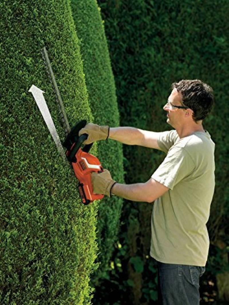 Taille haie lectrique avec batterie comment choisir les - Cisaille electrique pour jardin ...