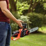 Black + Decker GKC3630L20 Tronçonneuse Électrique sans fil Guide 30 cm de la marque Black & Decker image 5 produit