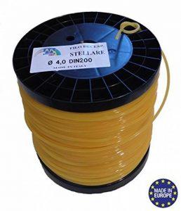 Bobine de fil professionnel pour débroussailleuse étoilé 4mmx170mètres de la marque Jardiaffaires image 0 produit