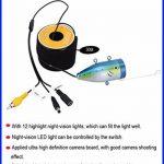 BOBLOV 30m IR 7 pouces 1000TVL Fish Finder Détecteur des poissons Sondeur des poissons Caméra vidéo sous-marine de pêche de la marque Eyoyo image 4 produit
