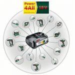 Bosch Coupe-bordures sans fil ART 23-18 LI avec roues, 1 batterie 18V 2,5 ah, technologie Syneon 06008A5D02 de la marque Bosch image 3 produit