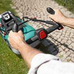 Bosch DIY Batterie de Tondeuse à Gazon Rotak, 2batteries, chargeur, carton (36V, 2,0Ah, 20–70mm Hauteur de coupe), 06008A450D de la marque Bosch image 2 produit
