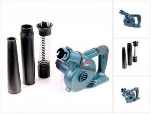 Bosch Professional Ventilateur GBL de 120 Solo 18 V sans batterie avec 4 embouts (également utilisable comme Souffleur), jusqu'à 270 KM/H, 1 pièce, 06019 F5100 de la marque Bosch image 0 produit