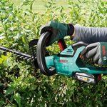 Bosch Taille-haies sans fil AHS 50-20 LI, 1 batterie 18V 2,5 ah, technologie Syneon 0600849F00 de la marque Bosch image 3 produit