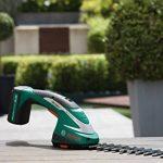 Bosch Taille-haies sans fil ASB 10,8 LI avec set de 2 lames et chargeur 0600856302 de la marque Bosch image 2 produit