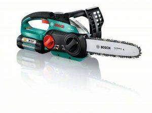 Bosch Tronçonneuse sans fil AKE 30 LI de 5,2 kg à longueur de guide de 30 cm avec batterie et chargeur 0600837100 de la marque Bosch image 0 produit