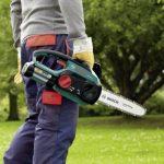 Bosch Tronçonneuse sans fil AKE 30 LI de 5,2 kg à longueur de guide de 30 cm avec batterie et chargeur 0600837100 de la marque Bosch image 2 produit