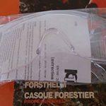 Casque forestier professionnel avec visière et anti-bruit Normes CE de la marque Jardiaffaires image 6 produit