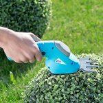 Cisaille électrique sans fil 2 en 1 pour bordures et buissons de la marque AGT image 2 produit