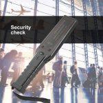 Détecteur de Métaux de Poche, Wand Scanneur Portable Alarme Sonore et Vibration pour Securité de l'Aéroport, Station de la marque ICOCO image 5 produit