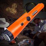 Détecteur de métaux portable, Kuman Metal Detector métal Pinpoint pinzeiger avec alarme Lumière/IP66 étanche/360 °Scan/Holster, chasse au trésor Dragage Outils Accessoires pour la sécurité, Vestiges, Bijoux KW30 de la marque kuman image 1 produit