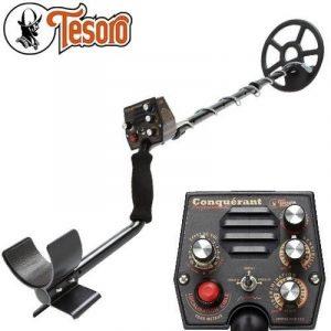 Détecteur de métaux TESORO CONQUERANT PRO livré avec son protège disque de la marque Tesoro image 0 produit
