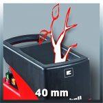 Einhell Broyeur électrique silencieux GC-RS 2540 (2000 W, Régime 40 trs/min, Livré avec sac de ramassage de déchets) de la marque Einhell image 3 produit