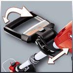 Einhell Coupe-bordures sans fil GE-CT 18 Li Solo Power X-Change (Li-lon, 18 V, Régime 8.500 trs/min, Diam. de coupe lame 24 cm, Etrier de protection, Livré avec 20 lamelles en PVC) de la marque Einhell image 3 produit