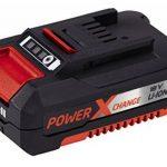 Einhell Coupe-bordures sans fil GE-CT18 Li Power X-Change (Li-lon, 18 V, Diam. de coupe lame 24 cm, Autonomie 40 min, temps de charge 30 min , Livré avec 1 batterie 1,5 Ah, 1 chargeur rapide 18 V et 20 lamelles en PVC) de la marque Einhell image 2 produit