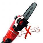Einhell Ebrancheur et taille-haie sans fil GE-HC 18 Li T Set Power X-Change (lithium ion, 18 V, télescopique, scie à chaîne de 170 mm, taille-haie de 400 mm y compris batterie de 3.0 Ah et chargeur) de la marque Einhell image 3 produit
