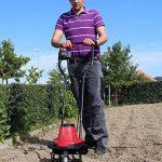 Einhell Motobineuse électrique GC-RT 7530 (750 W, Largeur de travail 30 cm, Profondeur de travail 20 cm, 4 fraises puissantes de Ø 22 cm, Guidon ergonomique et pliable) de la marque Einhell image 3 produit