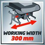 Einhell Motobineuse électrique GC-RT 7530 (750 W, Largeur de travail 30 cm, Profondeur de travail 20 cm, 4 fraises puissantes de Ø 22 cm, Guidon ergonomique et pliable) de la marque Einhell image 5 produit
