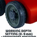 Einhell RG- SA 1433 Scarificateur Rouge de la marque Einhell image 2 produit