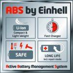 Einhell Souffleur sans fil GE-CL 18 Li kit (18 V, 1.5 Ah, Régime 12.000 trs/min, Autonomie 10 min, Livré avec 1 batterie 1,5 Ah et 1 chargeur rapide 18 V) de la marque Einhell image 1 produit
