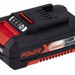 Einhell Tondeuse sans fil GE-CM 33 Li Power X-Change (lithium ion, 18V, jusqu'à 200 m², réglage de la hauteur de coupe à 5 positions, y compris 2 batteries de 2,0 Ah et 2 chargeurs) de la marque Einhell image 5 produit