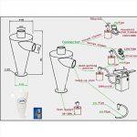 Élément Séparateur Cyclone Filtre Extraction Pour Aspirateur Collecteur de Poussière de la marque Weedee image 5 produit
