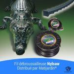 Fil nylon Nylsaw 4 mm x 74 m. Cranté. Bobine. Fil débroussailleuse de la marque matijardin image 3 produit