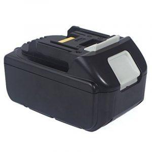 FLAGPOWER Paquet de Batteries 18V 5.0Ah Li-ion Batterie pour Makita Perceuse sans fil 194205-2 LXT-400 BL1850 BL1835 BL1830 - Batterie de qualité professionnelle de la marque FLAGPOWER image 0 produit