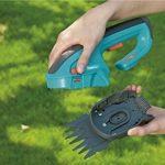 Gardena 889720 Kit cisaille/taille buisson sur accu ComfortCut, Noir de la marque Gardena image 4 produit