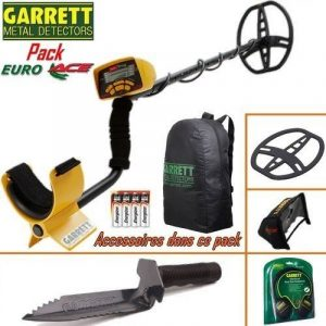 Garrett - Détecteur De Métaux Euro Ace Livré Avec Son Protège Disque + Couteau De Fouille . de la marque GARRETT image 0 produit