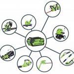 Greenworks Tools 21107 30cm Coupe-bordure sans fil 40V Lithium-ion (sans batterie ni chargeur) de la marque Greenworks Tools image 6 produit