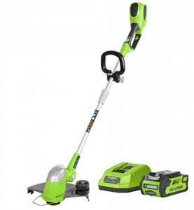 Greenworks Tools - 21107UA Coupe-bordure 30cm sans fil 40V Lithium-ion avec batterie 2Ah et chargeur de la marque Greenworks Tools image 0 produit