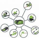 Greenworks Tools - 21107UA Coupe-bordure 30cm sans fil 40V Lithium-ion avec batterie 2Ah et chargeur de la marque Greenworks Tools image 5 produit
