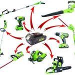 Greenworks Tools Taille-haie 57cm sans fil 24V (sans chargeur ni batterie) - 2200107 de la marque Greenworks Tools image 4 produit
