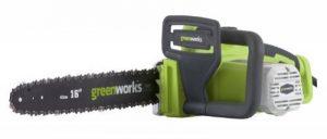 Greenworks Tools Tronçonneuse électrique 40cm 1800W - 20027 de la marque Greenworks Tools image 0 produit
