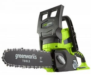 Greenworks Tools Tronçonneuse sans fil 25cm 24V Lithium-ion (sans batterie ni chargeur) - 2000007 de la marque Greenworks Tools image 0 produit