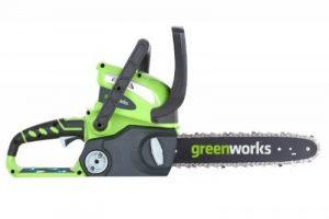 Greenworks Tools Tronçonneuse sans fil 30cm 40V Lithium-ion (sans batterie nichargeur) - 20117 de la marque Greenworks Tools image 0 produit