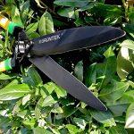 GRÜNTEK Cisailles à Haies - BROCHET en téflon 560mm, taille haie et arbustes avec lame courbée et double revêtement en téflon. Prix de lancement. de la marque Grüntek image 2 produit