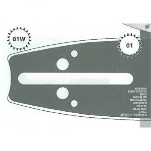 Guide tronçonneuse 45 CM adaptable JONSERED 2145 type 325 1.5mm 72 Maillons de la marque Jonsered image 0 produit