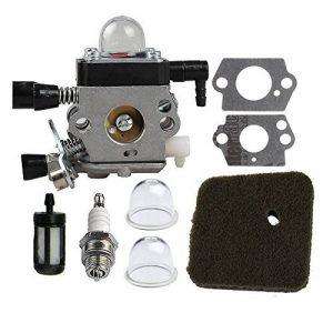 HIPA C1Q-S186 Carburateur avec Kit Remplacement de Carburateur pour Coupe-bordure STIHL FS38 HL45 HS45 KM55 FC55 FS45 FS46 FS46C FS55 FS55R FS55RC FS45C FS45L FS55C FS55T de la marque HIPA image 0 produit