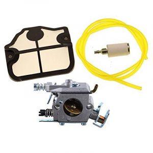 HIPA Carburateur avec Filtre à Air Tuyau d'Essence et Filtre à Essence pour Tronçonneuse Husqvarna 36 41 136 137 141 142 de la marque HIPA image 0 produit