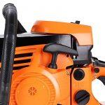 Homdox Tronçonneuse Thermique 61cm³ Puissance 2.8 Kw Tronçonneuse à Essence Guide 51 CM Scie à Chaîne à Essence de la marque Homdox image 6 produit