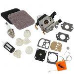 houri carburateur & Filtre à air et kit de réparation membrane Kit pour Stihl FS75FS80Fs85HS75hs80HS85km85remplacer c1q de S71C1q-S97A c1q de s143C1q de s153C1q de S186C1q-S186A CIQ s186b 4140120061941401200619B de la marque HURI image 2 produit
