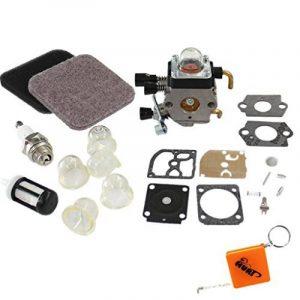 houri carburateur & Filtre à air et kit de réparation membrane Kit pour Stihl FS75FS80Fs85HS75hs80HS85km85remplacer c1q de S71C1q-S97A c1q de s143C1q de s153C1q de S186C1q-S186A CIQ s186b 4140120061941401200619B de la marque HURI image 0 produit